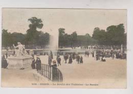 CPA DPT 75 PARIS LE JARDIN DES TUILERIES - Parcs, Jardins
