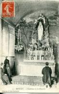 N°22980 -cpa Roncey -l'intérieur De La Chapelle- - Autres Communes