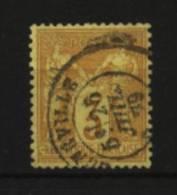 France   N°  86 Oblitéré  Cote 50 € Au Quart Cote - 1876-1898 Sage (Type II)