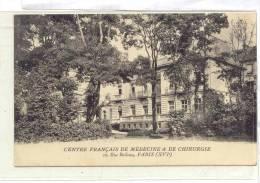 12780 PARIS - CENTRE FRANCAIS DE MEDECINE ET DE CHIRURGIE . Rue Boileau .  LN - France