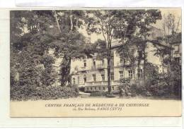 12780 PARIS - CENTRE FRANCAIS DE MEDECINE ET DE CHIRURGIE . Rue Boileau .  LN