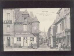 22 Paimpol Place Du Martray & Rue De L'église édit. MTIL N° 1912 Animée Hôtel Continental , Faïence Bretonne - Paimpol