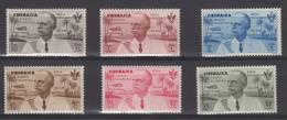 ITALIA COLONIE CIRENAICA 1934 SERIETTA ROMA-MOGADISCIO N° 30/35 6 V. MNH (r. 7010) - Cirenaica