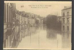 BOULEVARD DE LA SAUVENIERE - LIEGE - LUIK - LUTTICH CRUE DE LA MEUSE 1925-1926 - Luik