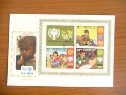 Bhutan - 1979 - Anno Internazionale Del Bambino - Mi Block 83A - Bhutan