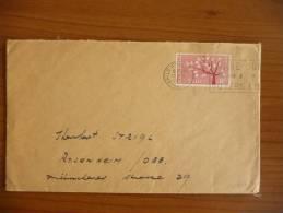 Irlanda - 1962 - Europa CEPT - Singolo Su Busta - Mi N. 155 - Irlanda
