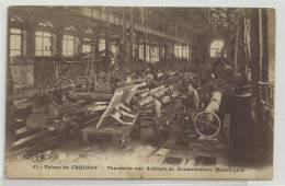CP5765 - USINES DU CREUZOT - TOURNERIE AUX ATELIERS DE CONSTRUCTIONS MECANIQUES - Le Creusot