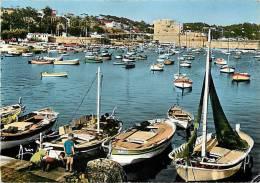 Var -ref Gd Format -ref H353-toulon - Le Mourillon - Le Port   -carte Bon Etat - - Toulon