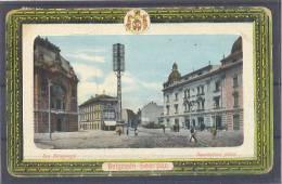Serbia Belgrade Karadjordjeva Street Postcard 1911 USED - Serbia