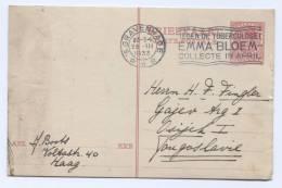 NETHERLANDS  -  Gravenhage, 1933. Postal Stationery To Yugoslavia - Postal Stationery