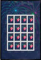 Canada MNH Scott #1278 Sheet Of 16 39c Canadian Flag And Fireworks - 25th Anniversary Of Canadian Flag - Full Sheets & Multiples