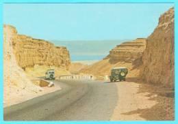Postcard - Israel, The Road To Sodom    (V 14543) - Israel