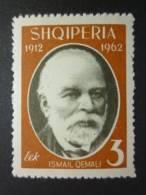 ALBANIA 1962: Scott 645 / Mi 710 / Y&T 645, ** MNH - FREE SHIPPING ABOVE 10 EURO - Albanie