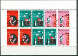 NEDERLAND 1967 Blok Kinderzegels GB-USED - 1949-1980 (Juliana)