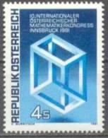 1981 Mathematiker-Kongreß ANK 1711 / Mi 1680 / Sc 1187 / YT 1509 Postfrisch/neuf/MNH - 1981-90 Ungebraucht