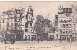 CPA 75 @ PARIS @ Le MOULIN ROUGE @ Le Cabaret En 1903 - France