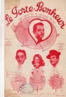 (b) ZAPPY  MAX , FRANCINE CLAUDEL , JO CHARRIER , Le Porte Bonheur De Jacques Helian - Partitions Musicales Anciennes