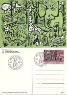 100 Jahre Zoologischer Garten Basel 1874 - 1974 - Ganzsachen