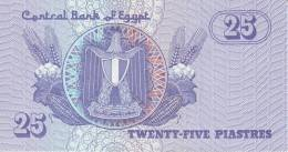 EGYPT  P. 57b 25 Ps 1998 UNC - Egitto