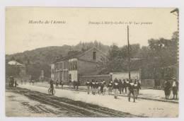 MARLY Le ROI : Marche De L'Armée : Passage à Marly-le-Roi N°641 Premier *f6039 - Marly Le Roi