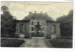 MONTS ( Calvados )  Château Du Haut-Fecq - Autres Communes