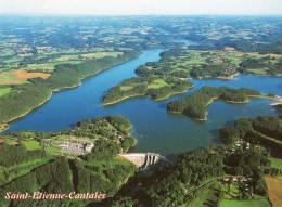 Cpm ST ETIENNE CANTALES, Barrage Et Lac  (12.43) - France