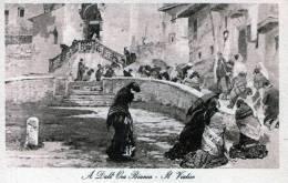 Cartolina  D´epoca -      A. Dall'Oca Bianca - Il Viatico - - Verona