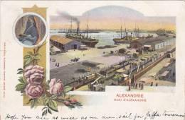 ALEXANDRIE , Quai D´Alexandrie , EGYPT , 1901 - Alexandria