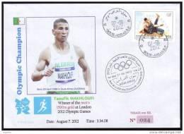 ALGERIA - 2012 - JO Londres - Athletics - Gold Medallist - 1500m - Makhloufi - Limited Edition - Summer 2012: London