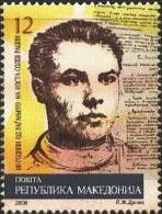MK0065 Macedonia 2008 Patriotic Poets Costa Of 1v MNH - Macedonia