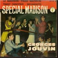 """45 Tours EP - GEORGES JOUVIN  -  VOIX DE SON MAITRE 602 - """"  LE MADISON """" + 3 - Vinyl Records"""