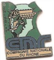 CNF_Compagnie Nationale Du Rhone_Barrage Hydroelectrique De Génissiat _ Signé Béraudy -Vaure - Trademarks