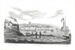 : Réf :GR-12-0114  : Affaire Du Cutter L'Ecureuil De Granville    : Gravure Au Format 19 Cm X 27.5 Cm - Granville