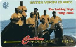 British Virgin Islands-143CBVC-FUNGI BAND - Isole Vergini