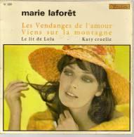 """45 Tours EP - MARIE LAFORET  - VISADISC 330 - """" VIENS SUR LA MONTAGNE """" + 3 - Andere - Franstalig"""