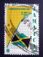 Jamaica - 1995 - Mi.nr.857 - Used - 25 Years Caribbean Development Bank - Flag Of Jamaica - Jamaique (1962-...)