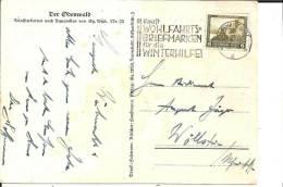 W130 / Winterhilfe (Mi.475) Mit Passendem Werbestempel - Deutschland