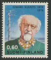 Finland Suomi 1974 Mi 750 YT 714 ** Ilmari Kianto (Calamnius 1874-1970) Writer / Schriftsteller / écrivain / Schrijver - Schrijvers