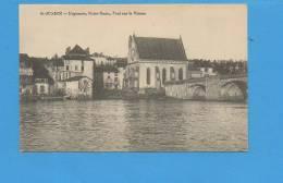 87 Saint JUNIEN : Mégisserie, Notre-Dame, Pont Sur La Vienne - Lettonie