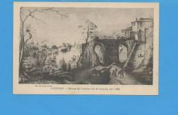 87 Saint JUNIEN : Ruines De L'abbaye De St Amand , Vers 1885 - Lettonie