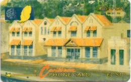 GRENADA-  6CGRA-NEW GRENTEL BUIDING ST.GEORGES - Grenada