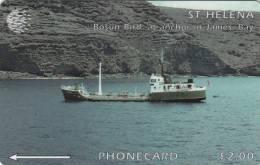 ST. HELENA ISL.(GPT) - Bosun Bird Ship, CN : 5CSHD, Tirage 2000, Used - Sainte-Hélène