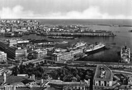 """Bellissima Cartolina  Anni  50   """" Genova - Stazione Marittima E Porto  """" - Genova (Genoa)"""