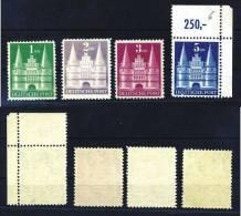 Z27745)Bizone Bauten 97/100 II Ungebraucht, Hohe Treppe - American/British Zone