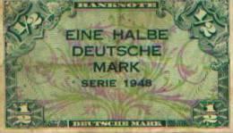 Allemagne - 1/2 Mark 1948 - [ 5] Ocupación De Los Aliados