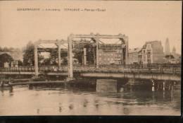 Carte Sépia DENDERMONDE.  Scheldebrug  TERMONDE.  Pont Sur L'Escaut - Dendermonde