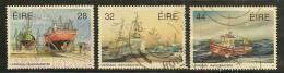 IRELAND - EIRE - 1991 SHIPS - BOATS -  Yvert # 774/6  USED - Ireland