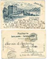 SWITZERLAND 1900 Institut Maier Lausanne U/B Postcard Used Sta - Schweiz