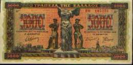 Grèce - 5000 Drachmes 1942 - Grèce