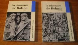 La Chanson De Roland - Tomes I Et II - Nouveaux Classiques Larousse - 1970. - French Authors